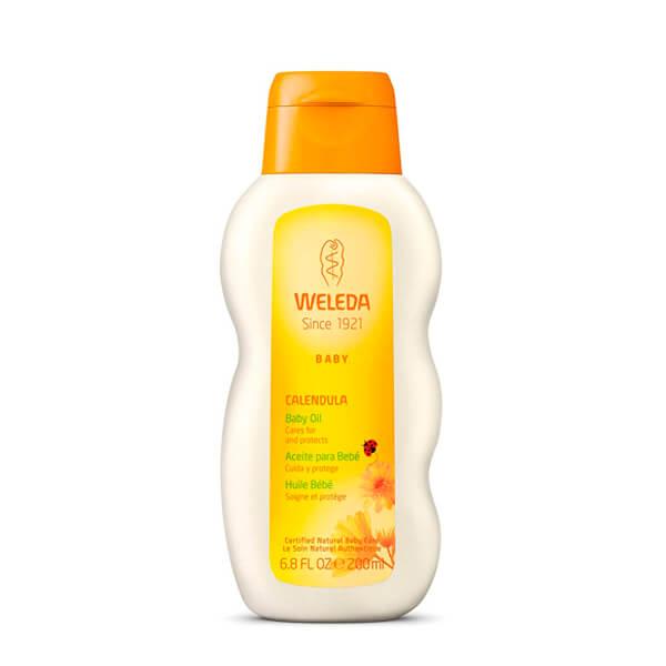 Aceite para la tripita del bebé Caléndula natural Weleda