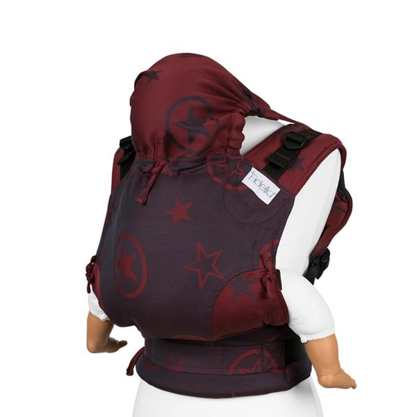 Mochila Fidella fusion toddler. Outer space roja