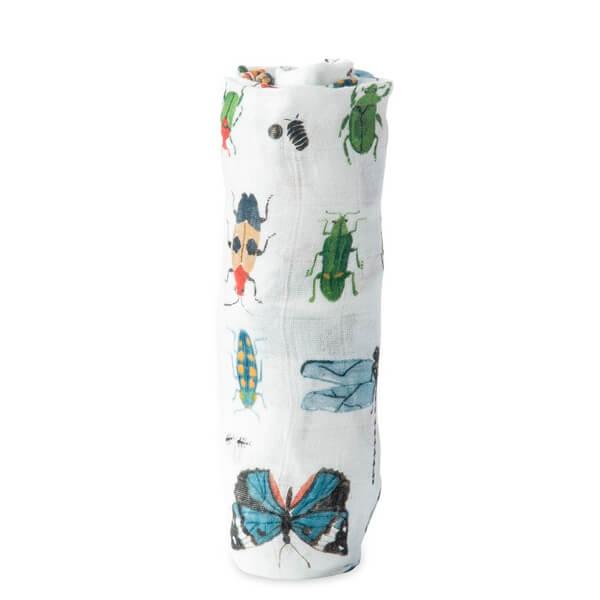 Muselina Bambú Bugs 120x120