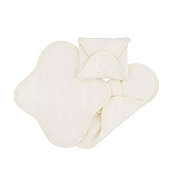 Pack 3 compresas de dia algodón orgánico ImseVimse