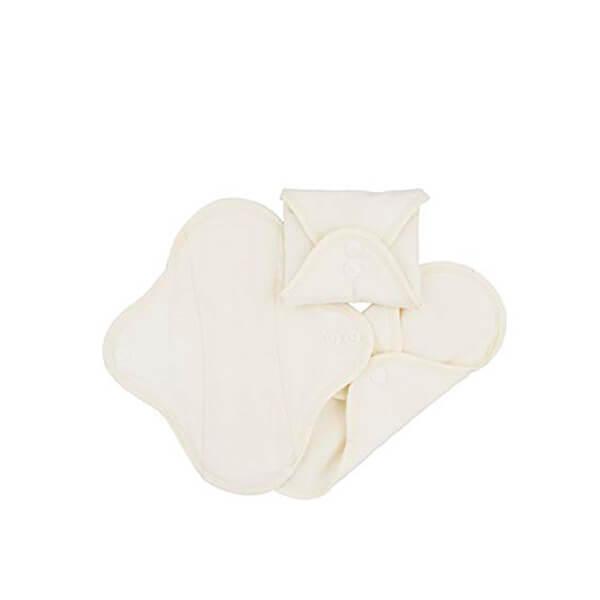 Pack 3 salvaslips de algodón orgánico ImseVimse