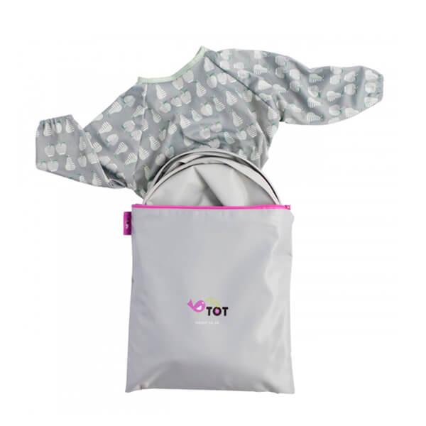 Tidy Tot 'Peras', Kit de bandeja y babero para BLW