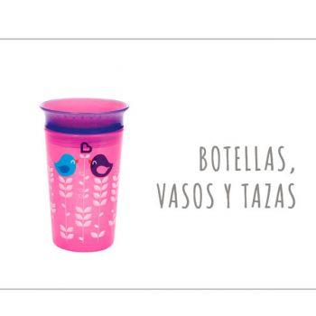 Botellas, vasos y tazas