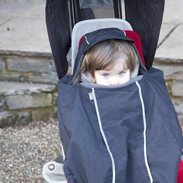 Cortavientos impermeable para portabebé y silla de paseo Cocoon