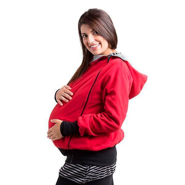 Forro porteo y embarazo, gris