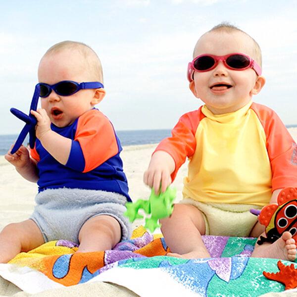 Gafas de sol protección UV, turquesa