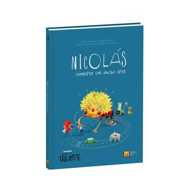 Libro Nicolás comparte con mucho arte