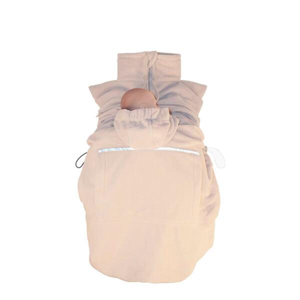 Cobertor bufanda arena para portabebés