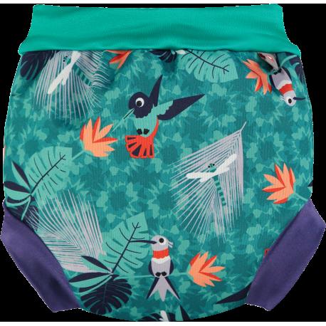 pañal bañador Hummingbird trasera